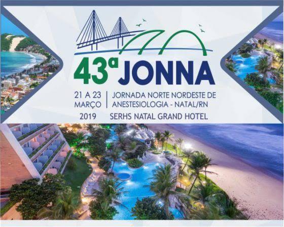 Participe da Jornada Norte-Nordeste de Anestesiologia  – 43ª JONNA