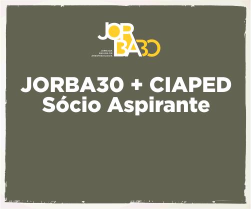Pacote: Jorba30 + CIAPED – Sócio Aspirante