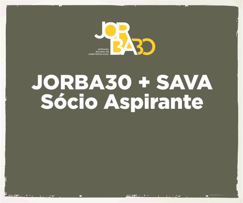 Pacote: Jorba30 + SAVA – Sócio Aspirante